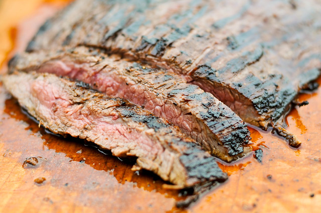 Mojo Marinated Flank Steak