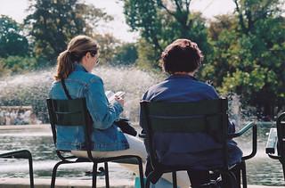 Jardin des Tuileries, Paris 2001