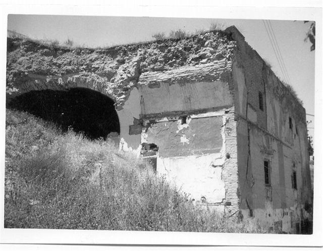 Ruinas del Convento de San Pedro y San Pablo en los años 60. Foto Villasante