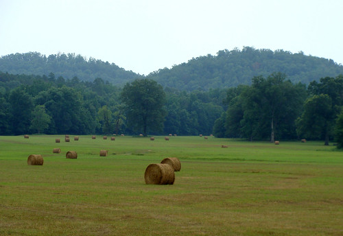 7-4 Round Hay Bales