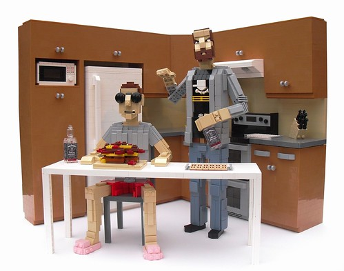 Epic Meal Time - Lego Edition!