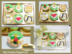 cupcake hantaran arief mayang