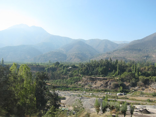 Maipo Valley landscape