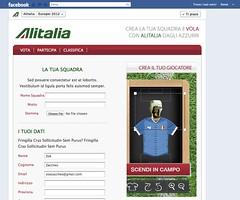 Concorso Facebook Alitalia