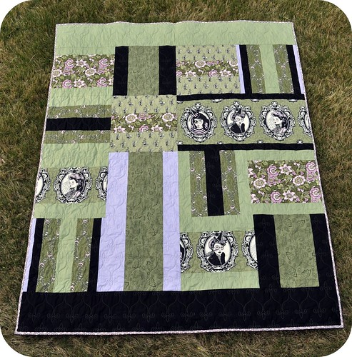 Double, Double, Toil & Trouble: A quilt pattern for twins!