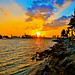 Sunset In South Pointe by Mr_Hdez