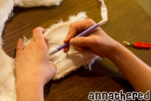 Making of Ushanka hat