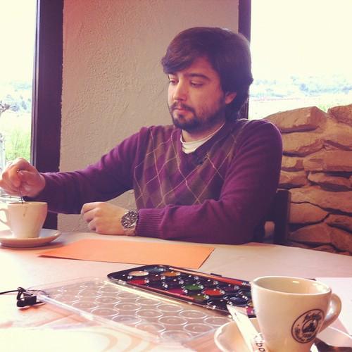 Grabacion programa LaVisita con Juan Jacinto Muñoz Rengel by LaVisitaComunicacion