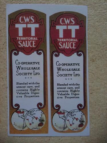 TT sauce CWS