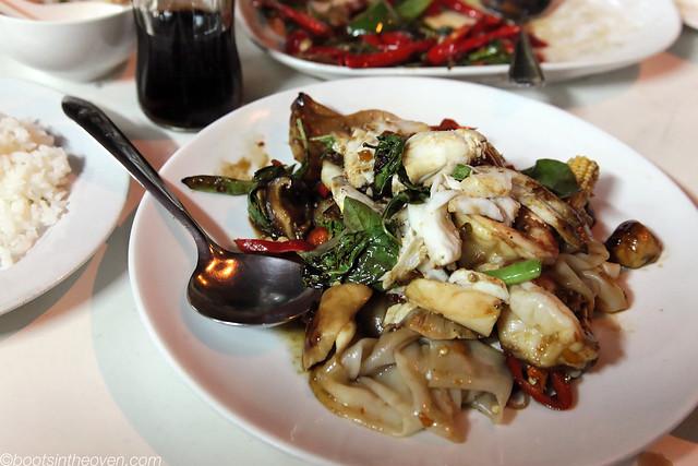 Pad Khee Mao (Drunken Noodles)