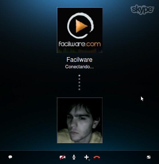 Videollamada Skype 4