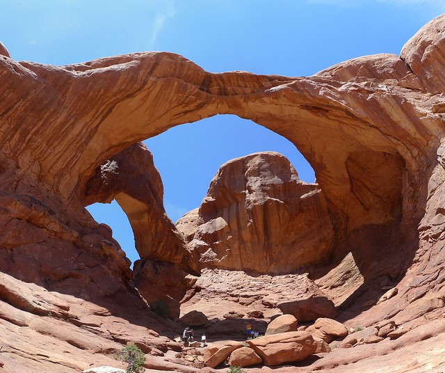 Arches National Park, UT. Double Arch.