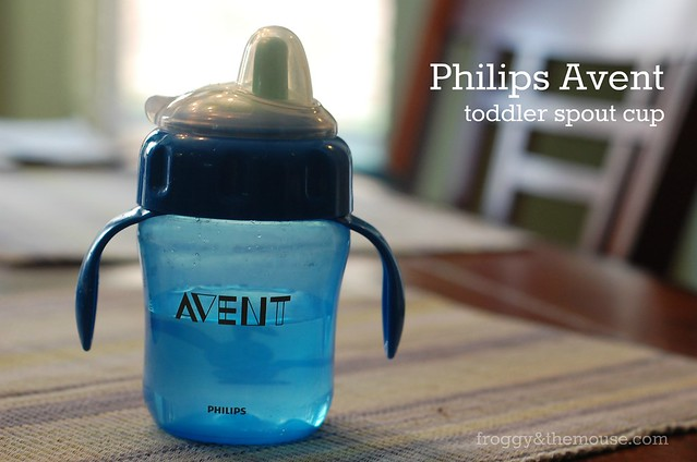 avent toddler spout