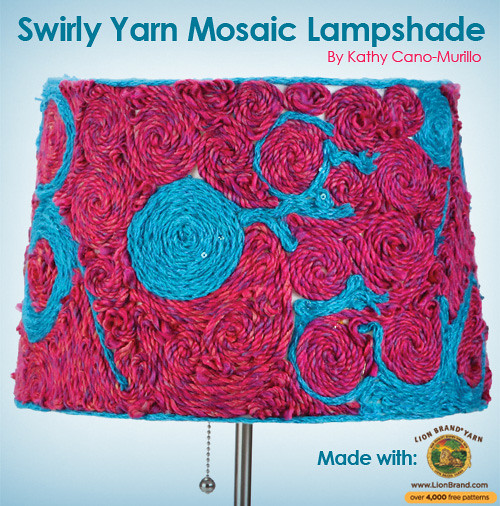 swirly-yarn-mosaic-lamp