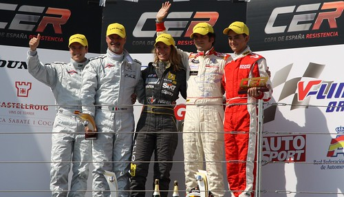 Suria-Gonzalo en lo más alto del podium