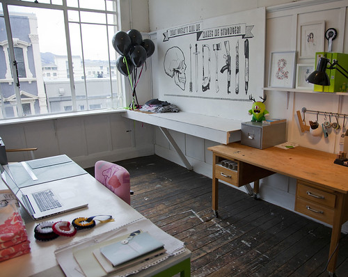 Studio Tour: Dear Colleen