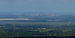 Blackpool from Rivington Pike Tower