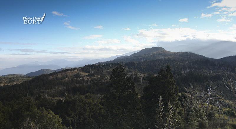 加羅山山頂的眺望