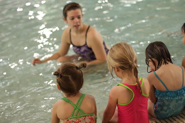C'sv ery first swim class