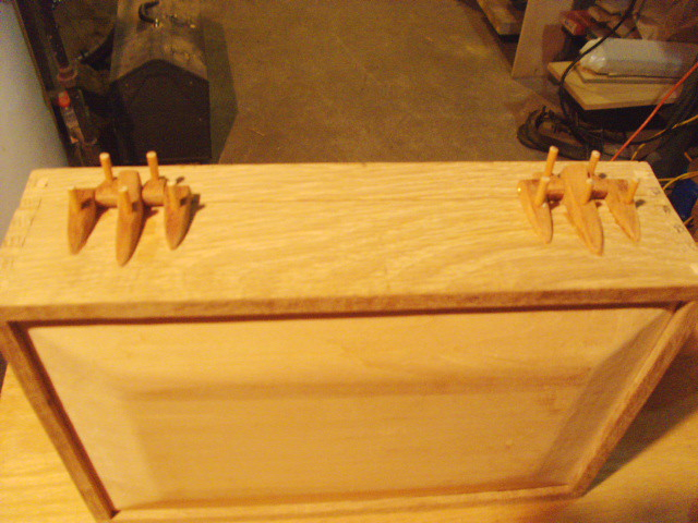 After pinning Hinges...