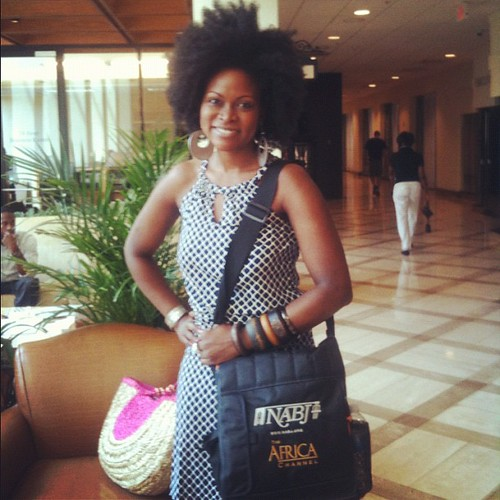 Wrapping it up with National Association of Black Journalists. Prepping to head back to NYC! #nabj #nabj12