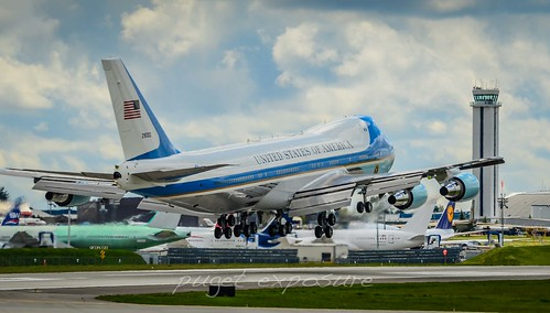 USA Air Force One / Boeing VC-25A (747-2G4B) / 82-8000 at PAE