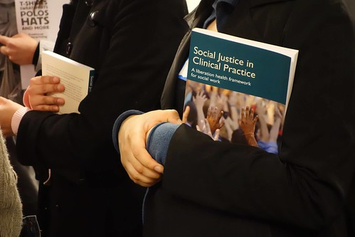 Social Justice in Clinical Practice book launch at City Life/Vida Urbana