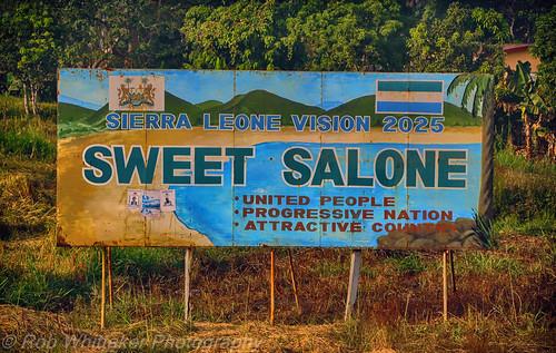 africa aids health sierraleone westafrica sida kabala campaignsigns northernprovince robertwhittaker africaoverland sazzoo robwhittaker robwhittakerphotography sazzoocom
