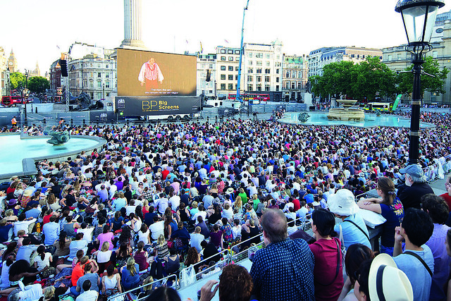 BP Big Screens 2013 The Royal Opera Tosca