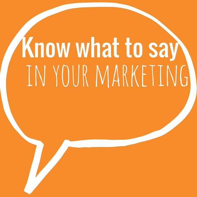 Know what say in your marketing, on TaraSwiger.com