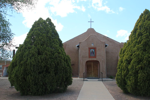 Our Lady of Sorrows Parish Church, La Joya, NM