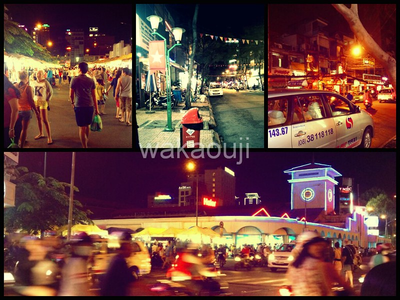 Last minuet shopping at Ben Than Night Market.