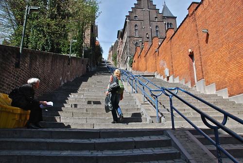 Tout sera fait pour que les gens empruntent les escaliers