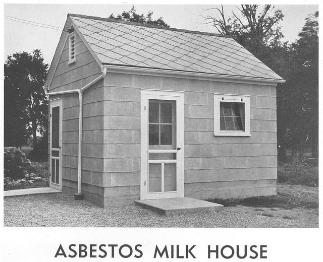 Asbestos Milk House Flickr Photo Sharing