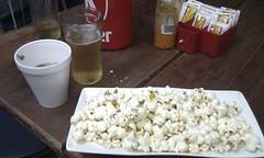 meal(0.0), breakfast(0.0), produce(0.0), kettle corn(1.0), food(1.0), snack food(1.0), popcorn(1.0),
