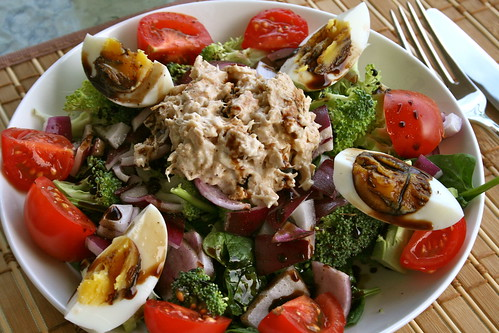 creamy wild salmon salad