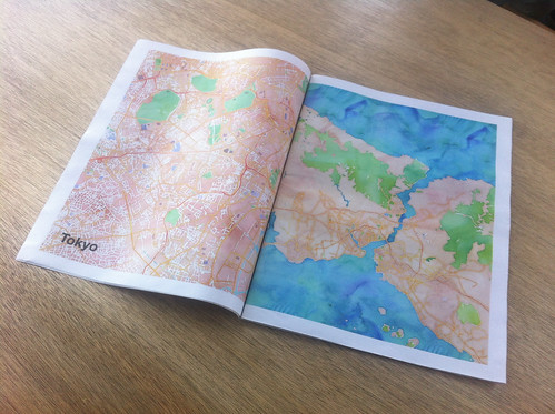 Stamen Maps Newspaper