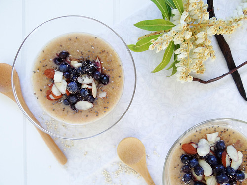 coconut quinoa pudding
