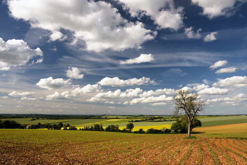 france clouds landscape earth yonne perreuse