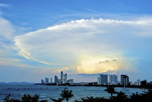 無料写真素材, 建築物・町並み, 空, 雲, 風景  タイ