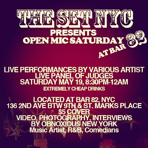 The Set NYC x ONYS Open Mic by VLNSNYC