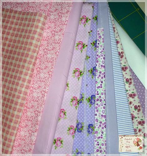 tecidos para um novo projeto by Cantinho da Aracy