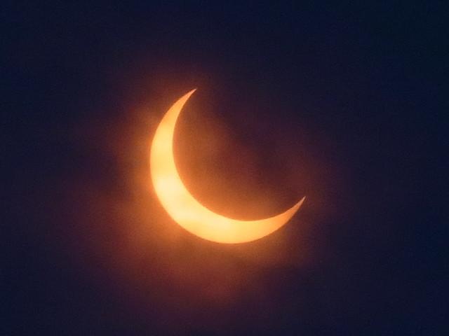 日食 Eclipse 2012/5/21 Tokyo Japan
