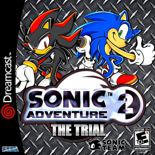 Sonic Adventure 2 The Trial Custom (BLK) by dcFanatic34