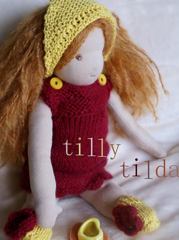 organic waldorf doll