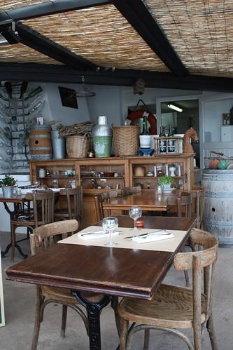 Restaurant la cabane du fier ile de r ma p 39 tite cuisine for Agencement cuisine ile de re