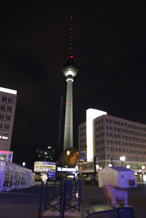 At Alexanderplatz...