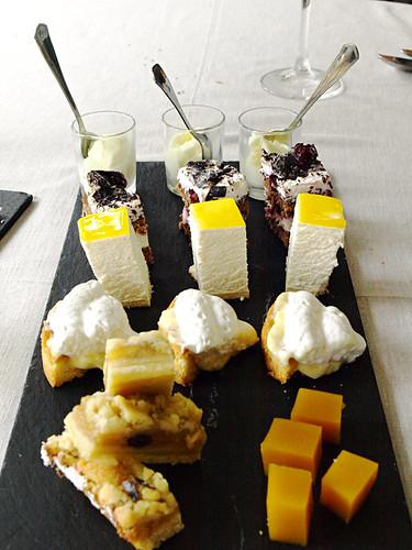 Desserts at Hotel Escuela Santa Brigida, Gran Canaria
