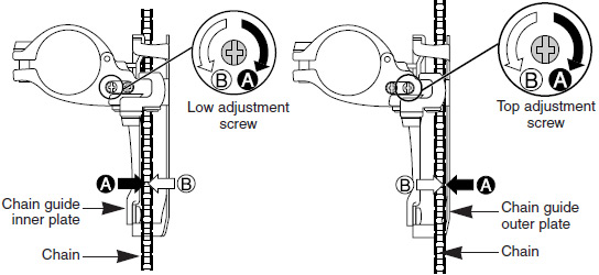 shimano deore rear derailleur diagram
