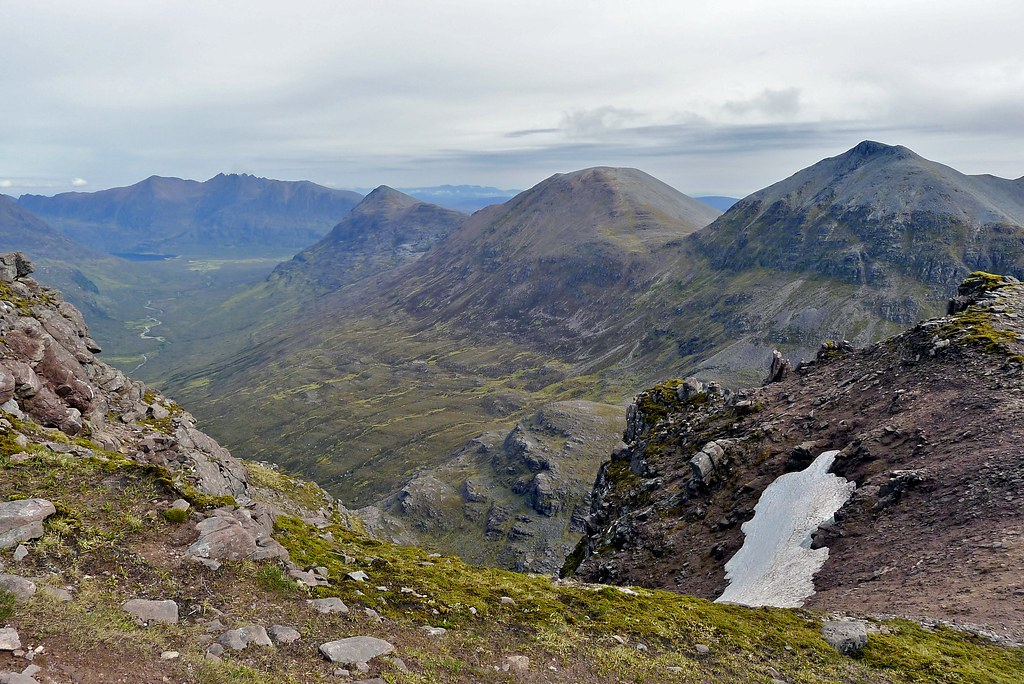 An Teallach and eastern Fisherfield hills